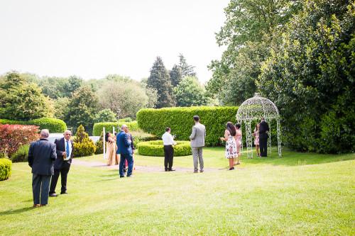 Before the ceremony - Raj & Claire - Audley Park-66